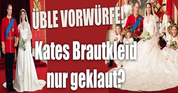 Kate Middleton enttäuscht von Alexander McQueen: Ist Kates Brautkleid ...