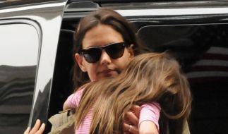 Katie Holmes hat sich mit Tom Cruise auf die Scheidung geeinigt. (Foto)