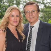 Katja Burkard und Hans Mahr sind seit über 20 Jahren ein Paar - allerdings in wilder Ehe. (Foto)