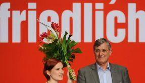 Katja Kipping und Bernd Riexinger wollen Schluss machen mit dem internen Gerangel. (Foto)