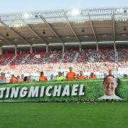 #KeepFightingMichael wurde schnell zum Twitter-Trend, der so manchen Sportfan emotional werden ließ. (Foto)