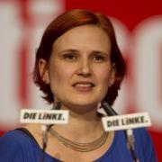 «Kein Mensch braucht mehr als das Vierzigfache des Mindesteinkommens», sagt Katja Kipping von der Linkspartei.