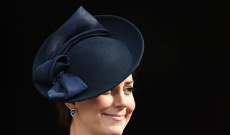 Keine Frau ist wohl so häufig (nicht) schwanger wie Herzogin Kate. (Foto)