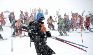 Keine Skirennen: «Windlotterie» und zu viel Schnee (Foto)