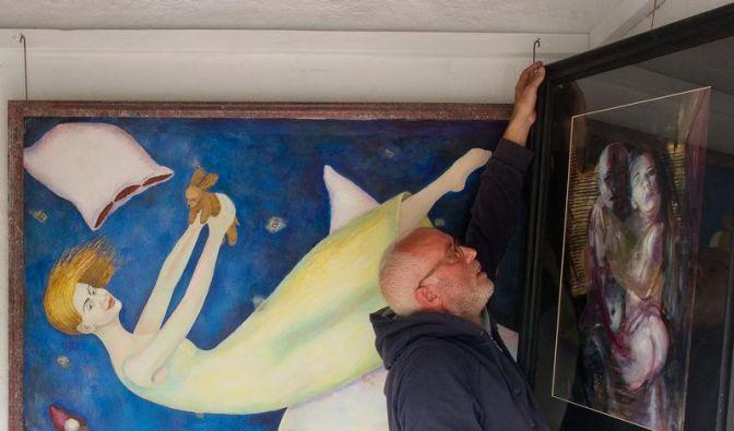 «Keine Spaßgalerie»: Kunst auf 3,27 Quadratmetern (Foto)