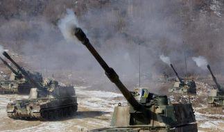 Keine Vergeltung nach Südkoreas Schießübungen (Foto)