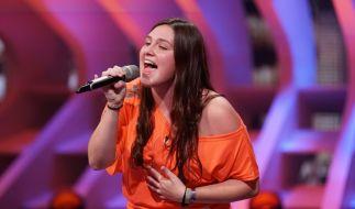 """Kelly Decker 17 Jahre, aus Colmar-Berg (Luxemburg) Song: """"When We Were Young"""" von Adele Juryjoker: Shirin David (Foto)"""