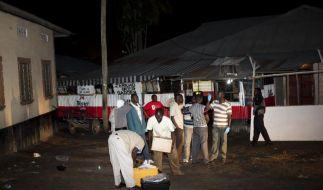 Kenia: Tote und Verletzte bei Anschlag auf Bar (Foto)