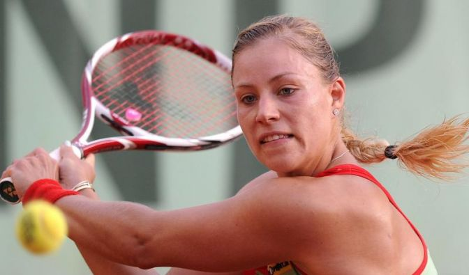 Kerber bei den French Open im Achtelfinale (Foto)