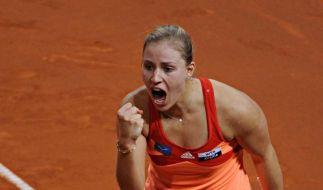 Kerber bei Tennisturnier in Madrid ohne Mühe weiter (Foto)