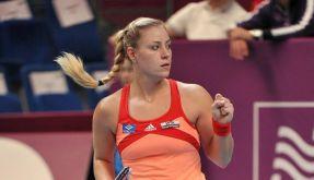 Kerber im Tennis-Finale von Paris (Foto)