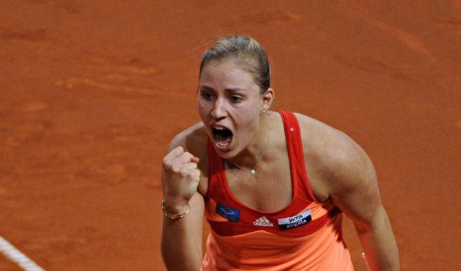 Kerber mit Sieg über Görges ins Viertelfinale von Rom (Foto)