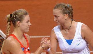 Kerber und Barthel bei WTA-Turnier in Stuttgart raus (Foto)