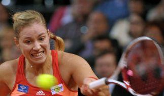 Kerber verdrängt Fed-Cup-Frust - Sieg gegen Vinci (Foto)