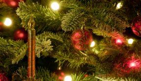 Kerze oder Lichterkette (Foto)