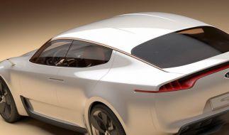 Kia zeigt Sportwagenstudie GT (Foto)
