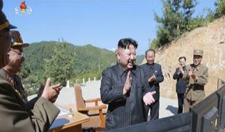 "Kim Jong Un droht den USA mit einem ""Atomhammer"". (Foto)"