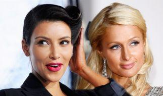 Kim Kardashian und Paris Hilton (Foto)