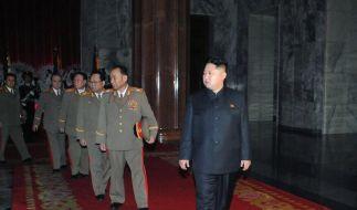 Kims Familienclan festigt Macht in Nordkorea (Foto)