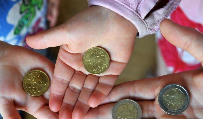 Kinderarmut in Deutschland geht zurück (Foto)