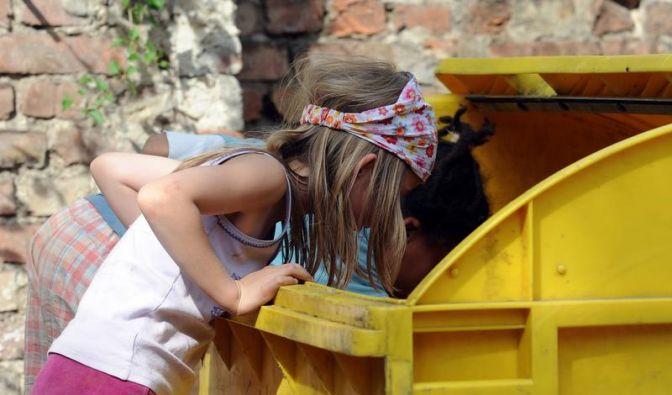 Kinderarmut sinkt - Berlin Schlusslicht (Foto)