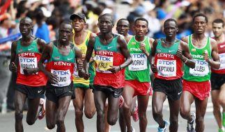 Kirui holt siebtes Gold für Kenias «Überläufer» (Foto)