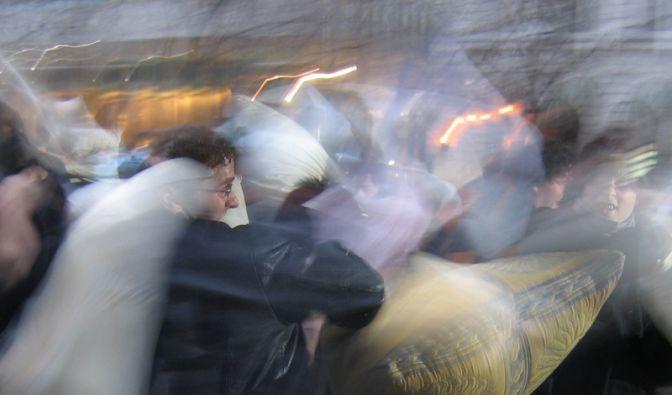Kissenschlacht (Foto)