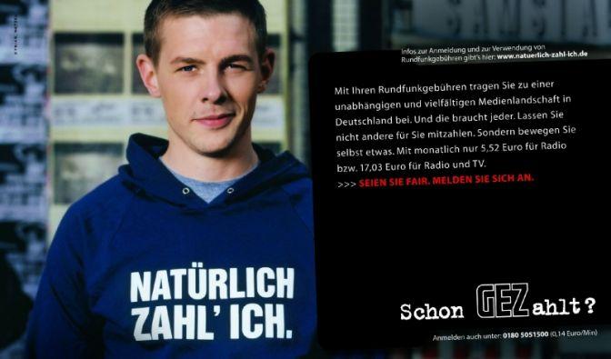 Klaas Heufer-Umlauf zahlt Rundfunkgebühren (Foto)