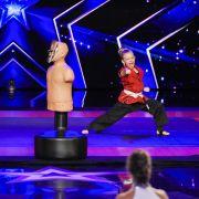 Kung-Fu-Mädchen haut Jury um (Foto)