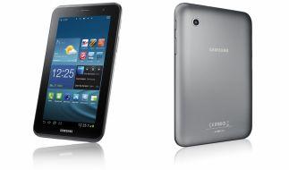 Klein, praktisch und verdammt schnell: Samsungs Galaxy Tab 2 7.0. (Foto)