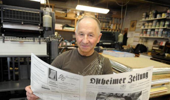 Kleinste Tageszeitung kommt aus der Rhön (Foto)