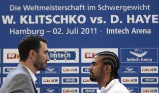 Klitschko vs. Haye (Foto)
