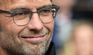 Kloppo feiert Trainer-Debüt beim FC Liverpool: Jürgen Klopp war trotz eines 0:0 gegen Tottenham sichtlich zufrieden. (Foto)