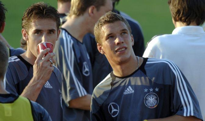 Klose und Poldi (Foto)