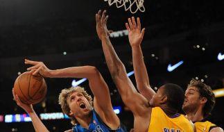 Knappe Dallas-Niederlage bei den Lakers (Foto)