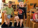 """""""Kneippen"""" im Kindergarten (Foto)"""