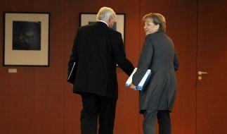 Koalitionsausschuss berät über Konjunkturpaket (Foto)