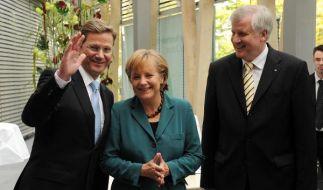 Koalitionsgespräche: Der erste Tag war ein guter Tag. (Foto)