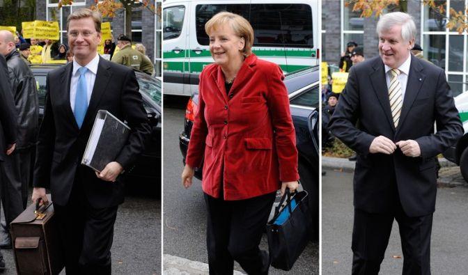 Koalitionsverhandlungen (Foto)