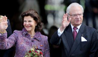 König Carl Gustaf von Schweden trauert um seinen Freund Carl Lewenhaupt. (Foto)