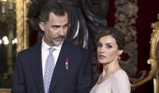 König Felipe und Königin Letizia im Juni 2015. (Foto)