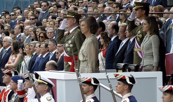 König Juan Carlos ins öffentliche Leben zurückgekehrt (Foto)