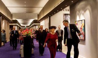 Königin Beatrix besucht Kunstmesse Maastricht (Foto)