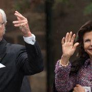 Königin Silvia von Schweden und König Carl XVI. Gustaf statten Deutschland einen Besuch ab. (Foto)