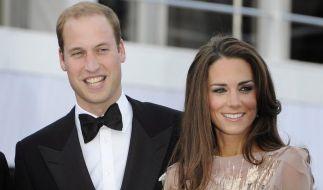 Königliche Weihnacht für William und Kate (Foto)