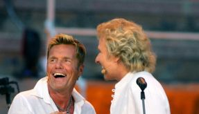 Können die beiden miteinander? Thomas Gottschalk (links) und Dieter Bohlen sollen zusammen Das Supertalent 2012 finden. (Foto)