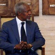 Kofi Annan zieht eine positive Bilanz nach seinem Treffen mit Syriens Präsident Assad.