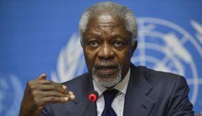 Kofi Annan gibt als UN-Sonderbotschafter für Syrien auf. (Foto)