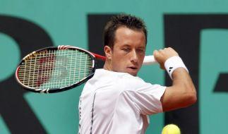 Kohlschreiber bei French Open locker weiter (Foto)