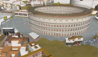 Kolosseum in Google Earth (Foto)